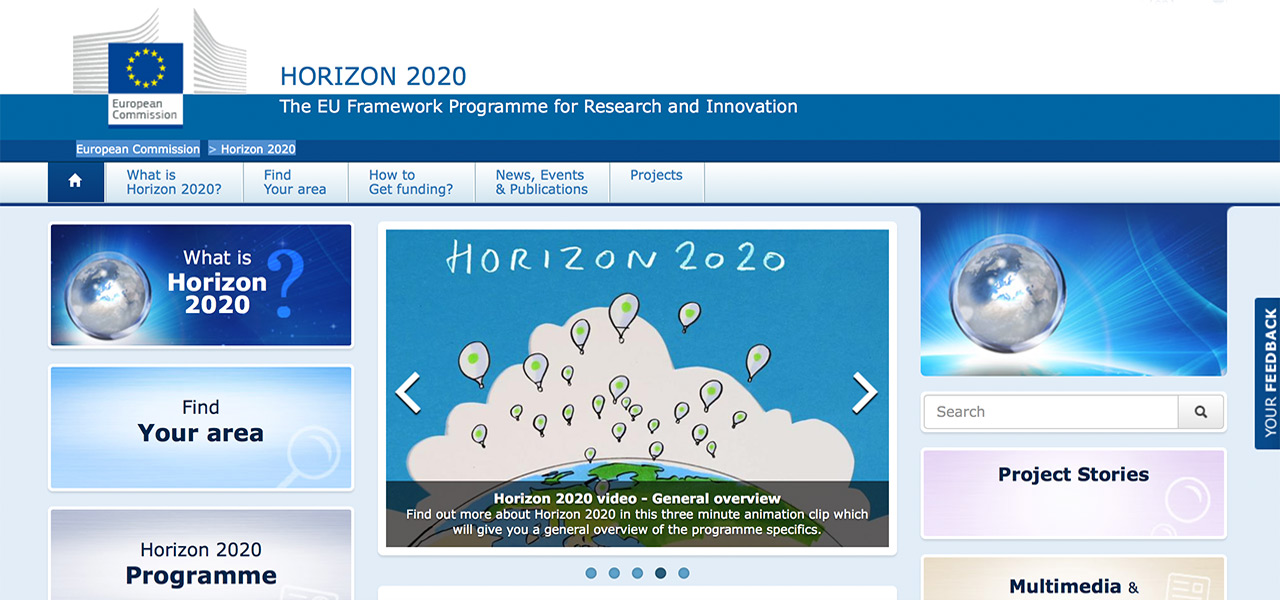 <h5>European Commission - Horizon 2020</h5>